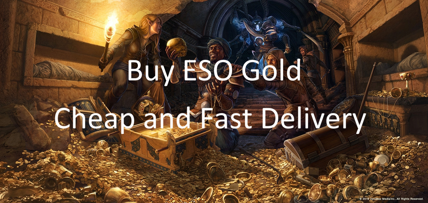 buy eso gold cheap and fast delivery