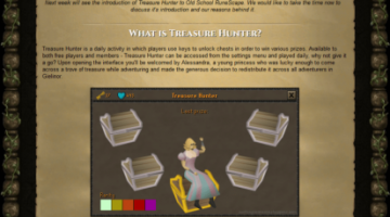 JAGEX ANNOUNCE TREASURE HUNTER FOR OLD SCHOOL RUNESCAPE - old school runescape gold